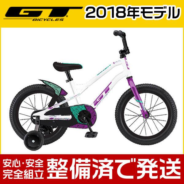 """GT(ジーティー) 2018年モデル SIREN 16""""/サイレン 16""""【16インチ】【子供用自転車/キッズバイク】【2017年継続モデル】"""