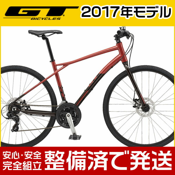 GT(ジーティー) 2018年モデル TRAFFIC COMP/トラフィック コンプ【クロスバイク/シティバイク】