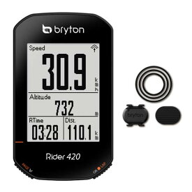 bryton ブライトン Rider420C ライダー420C ケイデンスセンサー付 GPSサイクルコンピューター