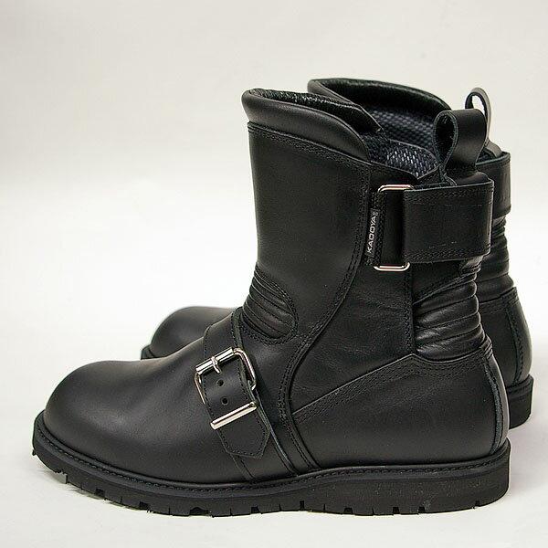 【即日発送サイズ有り】KADOYA #4313 ブラックアンクルブーツ【カドヤ BLACK ANKLE】【smtb-k】
