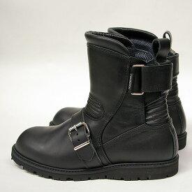 KADOYA #4313 ブラックアンクルブーツ【カドヤ BLACK ANKLE】【smtb-k】