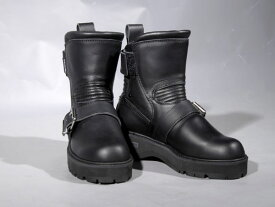 【即日発送サイズ有り】KADOYA #4316 BLACK ANKLE-A 厚底タイプ【カドヤ ブラックアンクルブーツ】【smtb-k】