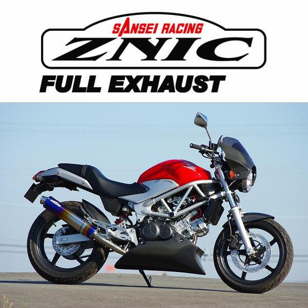 ZNIC #0-22-ZFT1212J チタンサイレンサーフルエキゾースト 政府認証(JMCA) VTR250('09-)【ジニック】