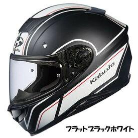 OGKカブト Aeroblade-5 ヘルメット SMART【フラットブラックホワイト】【オージーケーカブト バイク用 フルフェイスヘルメット エアロブレード5 スマート】【smtb-k】