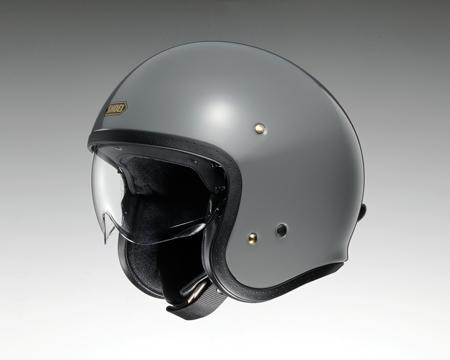 SHOEI J・O ヘルメット【ラットグレー】【ショウエイ バイク用 ジェイ・オー ジェットヘルメット ショーエイ】