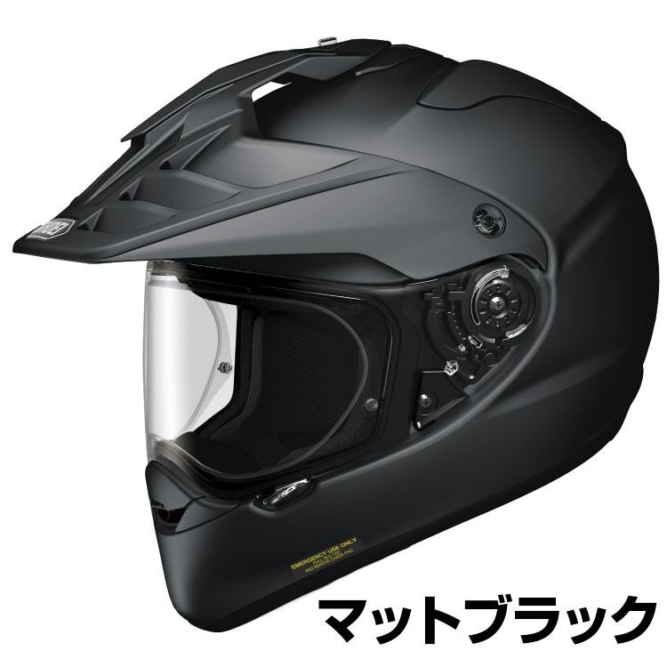 SHOEI HORNET-ADV ヘルメット 【マットブラック (つや消しカラー)】【ショウエイ ホーネットADV バイク用 オフロードヘルメット ショーエイ】【smtb-k】