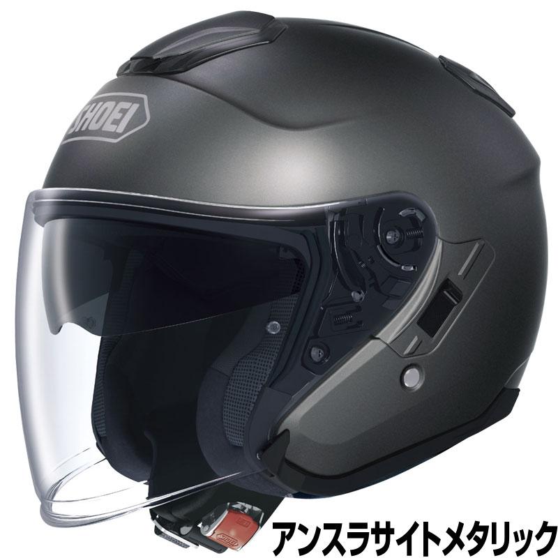 SHOEI J-CRUISE ヘルメット【アンスラサイトメタリック】【ショウエイ バイク用 ジェットヘルメット ショーエイ Jクルーズ】【smtb-k】