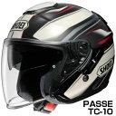 SHOEI J-Cruise ヘルメット PASSE 【TC-10】【ショウエイ バイク用 ジェットヘルメット ショーエイ Jクルーズ パッセ】【smtb-k】