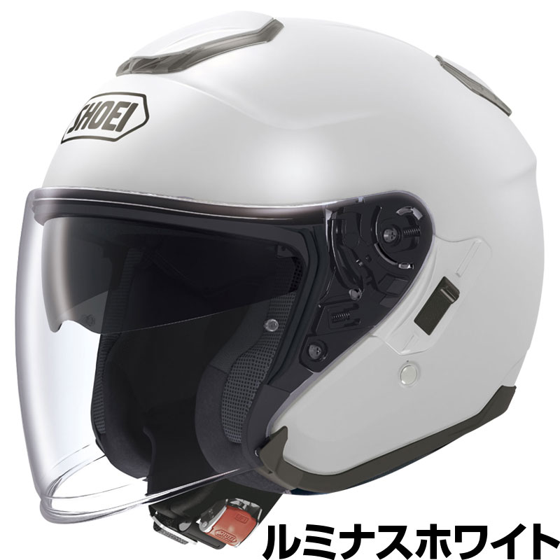 SHOEI J-CRUISE ヘルメット【ルミナスホワイト】【ショウエイ バイク用 ジェットヘルメット ショーエイ Jクルーズ】【smtb-k】