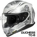 SHOEI Z-7 ヘルメット DUCHESS 【TC-6 ホワイト×シルバー】【ショウエイ Z7 バイク用 フルフェイスヘルメット ダッチェス】【smtb-k...