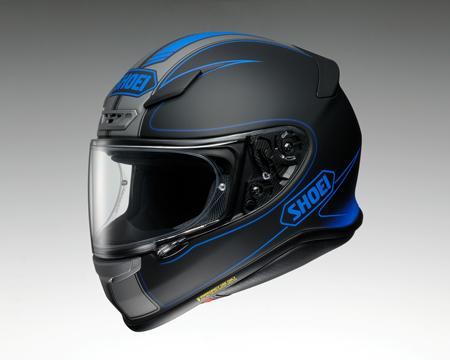 SHOEI Z-7 ヘルメット FLAGGER TC-2【フラッガー ブルーXブラック】※マットカラー【ショウエイ Z7 バイク用 フルフェイスヘルメット】【smtb-k】