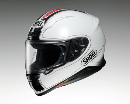 SHOEI Z-7 ヘルメット FLAGGER TC-6【フラッガー ホワイトXレッド】【ショウエイ Z7 バイク用 フルフェイスヘルメット】【smtb-k】