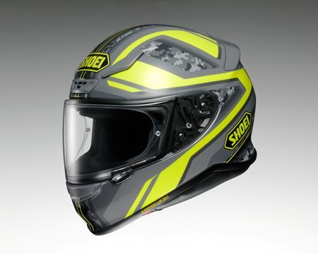 SHOEI Z-7 ヘルメット PARAMETER TC-3【パラメーター イエローXグレイ】【ショウエイ Z7 バイク用 フルフェイスヘルメット】【smtb-k】