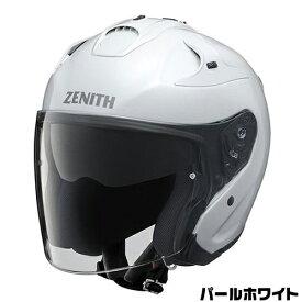 YAMAHA YJ-17 ヘルメット【パールホワイト】【ヤマハ ゼニス バイク用 インナーバイザー付スポーツジェットヘルメット】【smtb-k】