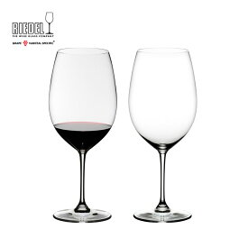 【リーデル公式】<ヴィノム> カベルネ・ソーヴィニヨン/メルロ(ボルドー)(2個入)6416/0【ラッピング無料】RIEDEL 赤ワイングラス TESB