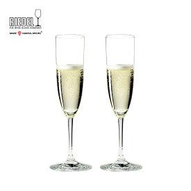 【リーデル公式】<ヴィノム> シャンパーニュ(2個入)6416/08【ラッピング無料】RIEDEL Champagne スパークリングワイン