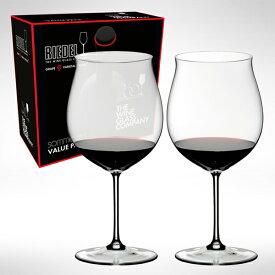 【リーデル公式・260周年記念限定】<ソムリエ> バリューパック ブルゴーニュ・グラン・クリュ(2個入)2440/16【ラッピング無料】RIEDEL ワイングラス リーデル創業260周年記念限定生産
