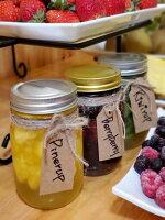 生フルーツシロップ3種