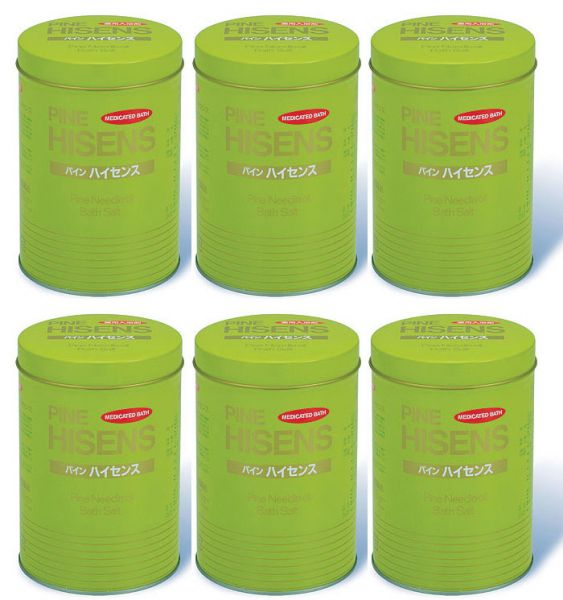 【500円クーポン発行中】 【送料無料】 高陽社 パインハイセンス 2100g(2.1kg) 6缶セット 入浴剤