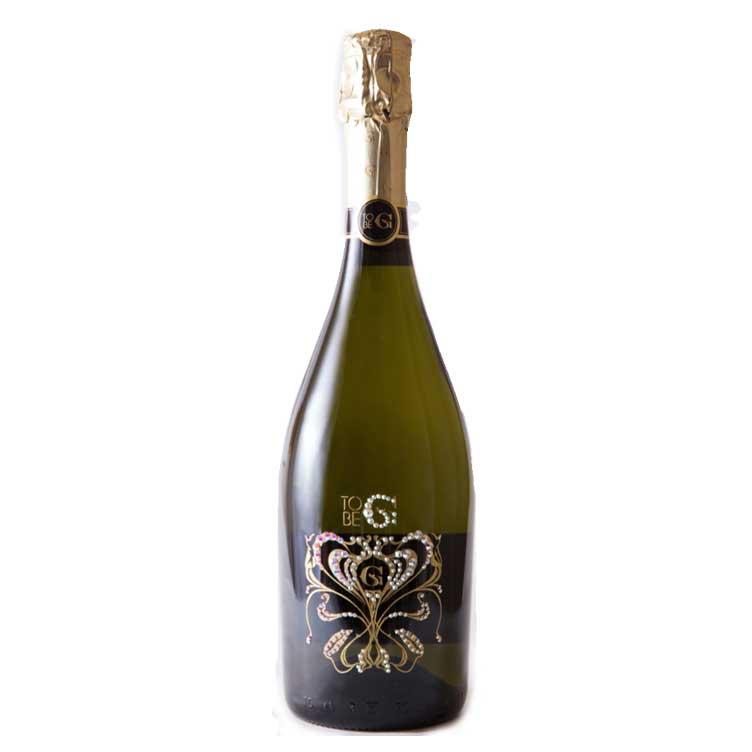 【300円クーポン発行中】 【送料無料】グッチオ・グッチプロデュース TO BE G Gioia CRYSTAL [スパークリングワイン] トゥービージー ジオイア クリスタル 750ml正規品 箱付き