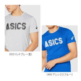 アシックス コットンブレンド ショートスリーブ トップ (2031A932) メンズ 半袖Tシャツ トレーニングウェア