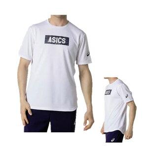 アシックス AWC グラフィック ショートスリーブトップ2053A059-100 ブリリアントホワイト S バレーボール 半袖 メンズ