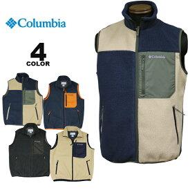 コロンビア スポーツウェア ベスト Columbia SUGAR DOME FLEECE VEST シュガードーム フリース 全2色 S-XXL メンズ