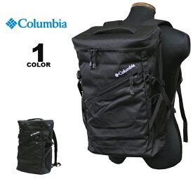 【SALE】コロンビア スポーツウェア Columbia リュック TWELVEPOLE STREAM SQUARE BACK PACK 2 バックパック トゥエルブポールスクエア 29L ブラック 黒 メンズ レディース