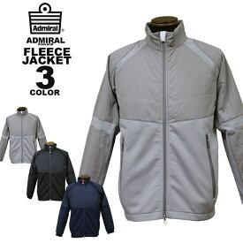 アドミラル ゴルフ Admiral GOLF TECH FLEECE JACKET キルトフリース ジャケット 全3色 M-LL メンズ