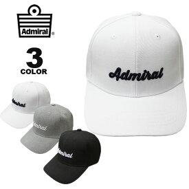 アドミラル ゴルフ キャップ Admiral GOLF PGA TOUR PRO CAP 帽子 メンズ レディース 全3色 フリーサイズ