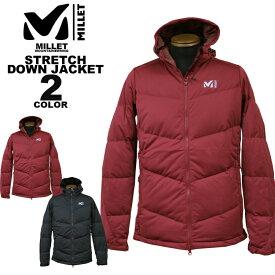 ミレー MILLET ダウンジャケット MONT MAUDIT STRETCH DOWN JACKET 全2色 M-XL メンズ