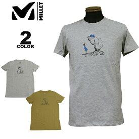MILLET ミレー Tシャツ WAY UP TS S/S T-SHIRTS 半袖 TEE 全2色 メンズ