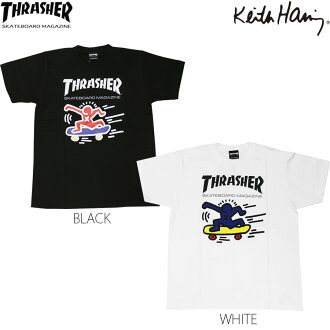 THRASHER / Keith Haring MAG LOGO T-SHIRTS 2
