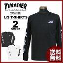 送料無料 スラッシャー THRASHER Tシャツ 長袖 ロンティ ブラック 黒 ホワイト 白 MULTI-A L/S T-SHIRTS メンズ レディース