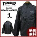 スラッシャー THRASHER The New Religion Worldwide COACH JACKET コーチジャケット ブラック 黒 メンズ レディース
