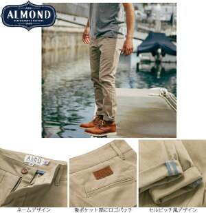 AlmondSurfboards&DesignHATHAWAYCHINOPANTS【アーモンドサーフボードデザインパンツ長ズボンチノパン】