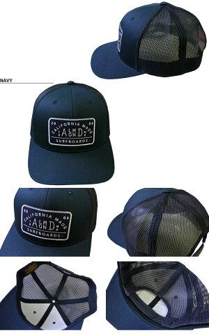 アーモンドサーフボードデザインAlmondSurfboards&DesignTRUCKERMESHCAPキャップ帽子スナップバックメッシュネイビーメンズレディース