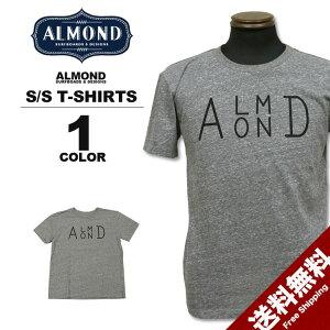 アーモンドサーフボードデザインAlmondSurfboards&DesignSIDESTACKLOGOT-SHIRTS半袖TシャツグレーXS-Lメンズレディース