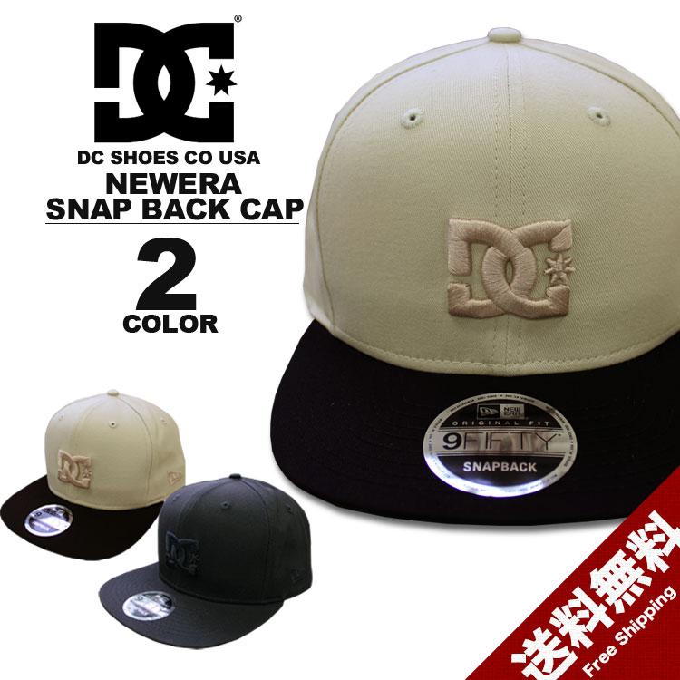ディーシー シューズ DC SHOES キャップ New Era HERITAGE 950 SNAP BACK CAP 全2色 ニューエラー スナップバック メンズ レディース
