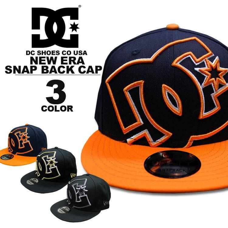 ディーシー シューズ DC SHOES キャップ New Era DOUBLE UP SNAP BACK CAP ニューエラー スナップバック 全3色 メンズ レディース