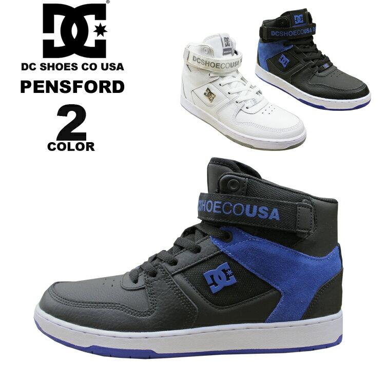 ディーシー シューズ DC SHOES PENSFORD ハイカット スニーカー メンズ 靴 全2色 フットウェア FOOTWEAR SNEAKER