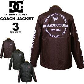 ディーシー シューズ コーチジャケット DC SHOES 18 FA COACH JACKET 全3色 メンズ