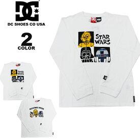 ディーシー シューズ キッズ 長袖Tシャツ DC SHOES 19 KIDS STARWARS GRAPHIC_11 L/S T-SHIRTS ディズニー DISNEY スター・ウォーズ ロンTEE 全2色 ユースサイズ 140-160 子供服