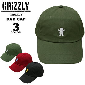 50605d4a61691 GRIZZLY grizzly グリズリーOG BEAR LOGO SPORTS DAD CAP キャップ 帽子 カーブキャップ ローキャップ 全