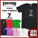 スラッシャー THRASHER Tシャツ 半袖 GONS STROLEING STONED KIDS T-SHIRTS ブラック 黒 ホワイト 白 ネイビー ラベンダー レッド 赤 ピンク グリーン