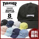 スラッシャー THRASHER 帽子 MAG LOGO Dad HATキャップ メンズ レディース コットン 全8色
