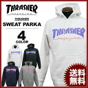 スラッシャー THRASHER トレーナー パーカー BAR MAGプルオーバーパーカ メンズ レディース 裏毛スウェット 全4色 S-XXL