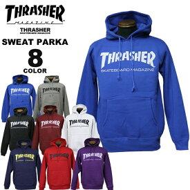 スラッシャー THRASHER トレーナー パーカー MAG LOGO SWEAT PARKA プルオーバーパーカ メンズ レディース 裏起毛 全8色 S-XXL