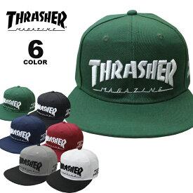 スラッシャー THRASHER 帽子 MAG LOGO SNAP BACK CAP キャップ メンズ レディース スナップバック 全6色