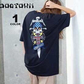ドッグタウン Tシャツ メタリカ DOGTOWN METALLICA S/S T-SHIRTS バンド ロック 半袖 TEE メンズ レディース ブラック 黒 コラボ S-XL